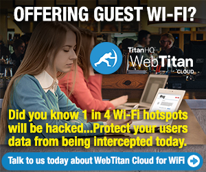 Offering guest wi-fi warning
