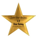 Gold Star Review for SpamTitan in Recent Spam Filter Tests