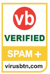 SpamTitan receives 34th VB100 Award from Virus Bulletin for 99.96% spam blocking  and zero false pos