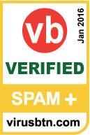 SpamTitan has been awarded a special VBSpam+ award for its exceptional performance.