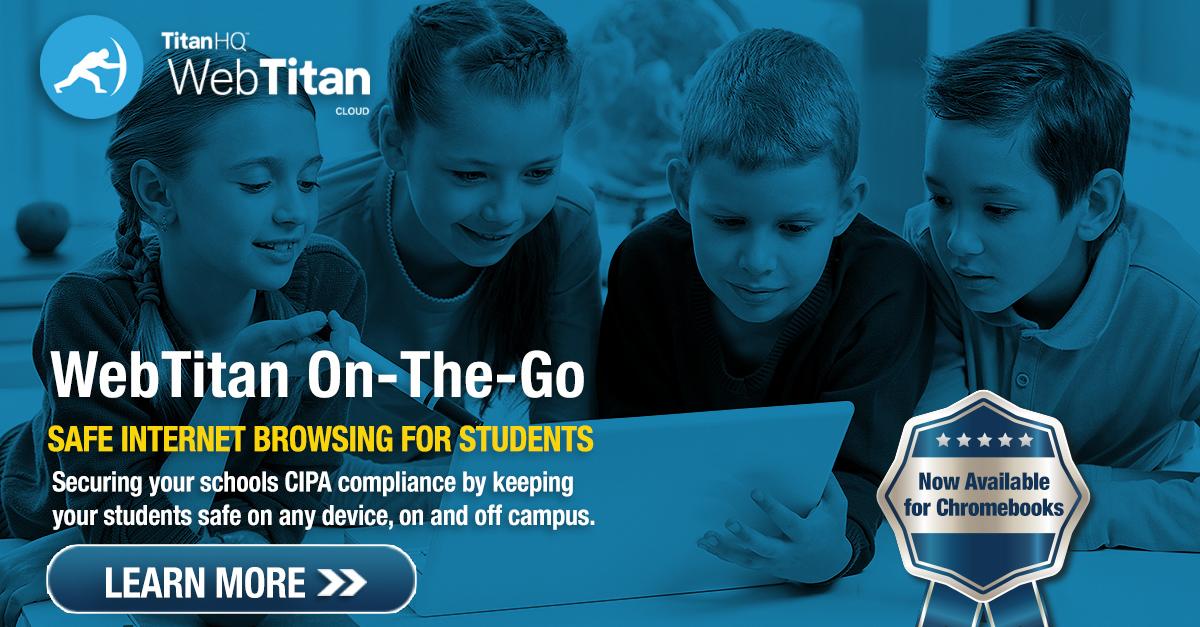 TitanHQ E-Rate Funding & CIPA for Wi-Fi