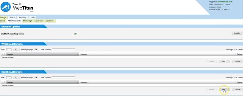 TitanHQ WebTitan Cloud - Cloud Based Content Filtering Solution, Built for Business