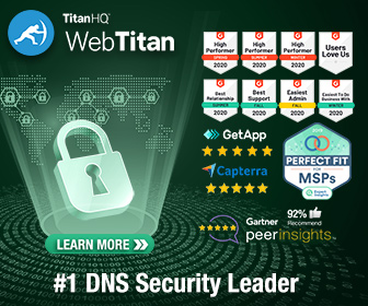 WebTitan is the top customer rated DNS filtering solution